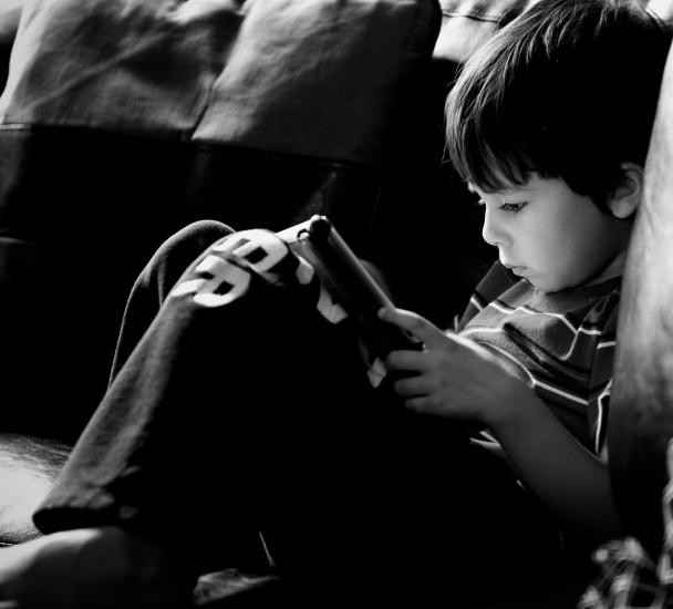 A Boy And His iPad (104 of 365)