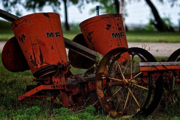 Old Massey Ferguson Seeder (142 or 365)